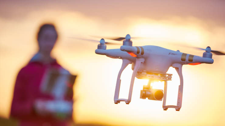 Drone Flyover